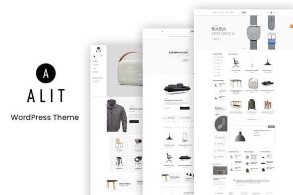 پوسته وردپرس فروشگاهی Alit - Minimalist WooCommerce WordPress Theme