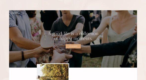 پوسته وردپرس همایش و رویداد Amigos - Party & Celebration Event Agency