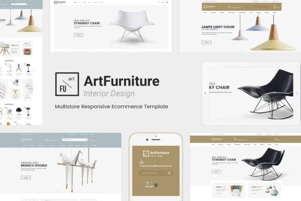 قالب وردپرس فروشگاه مبلمان Artfurniture - Furniture Theme for WooCommerce
