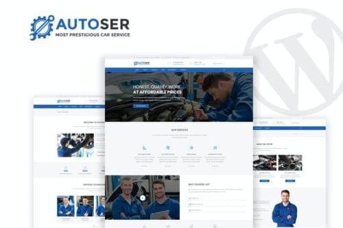 قالب وردپرس سرویس خودرو Autoser - Car Repair & Auto Services WP Theme