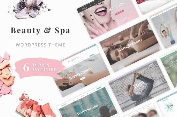 پوسته وردپرس زیبایی Beauty Wellness WordPress Theme