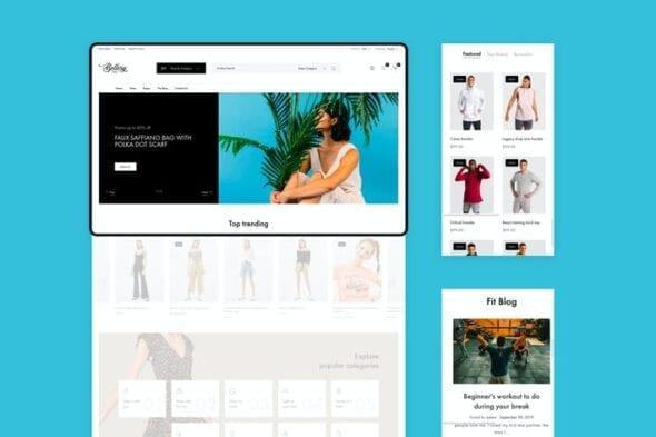 پوسته وردپرس فروشگاهی Bellery - Modern & Minimal WooCommerce Theme