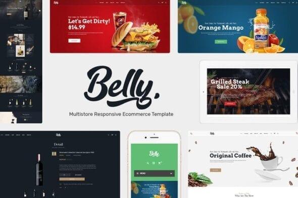 پوسته وردپرس چندمنظوره Belly - Multipurpose Theme WooCommerce WordPress