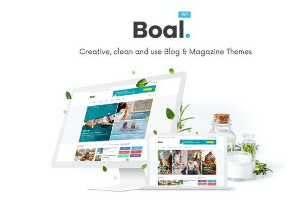پوسته وردپرس خبری Boal - Newspaper Magazine News