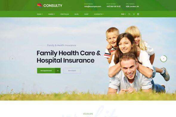 پوسته وردپرس تجاری Consulty - Business Finance WordPress Theme
