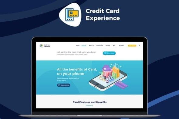 قالب وردپرس کارت اعتباری Credit Card Experience