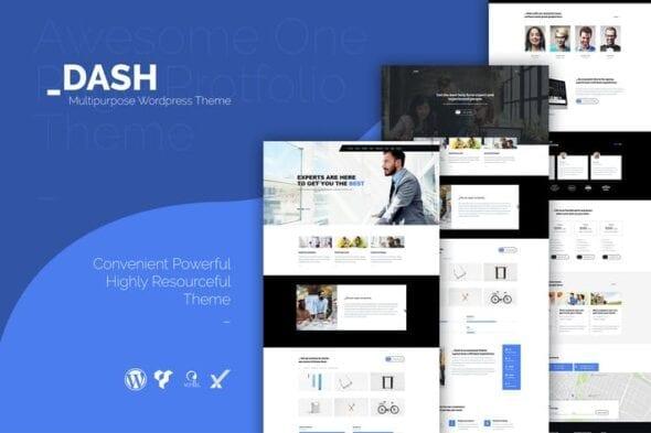 قالب وردپرس چندمنظوره Dash - Creative Business Theme