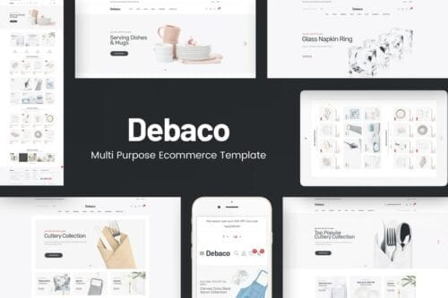 قالب وردپرس لوازم آشپزخانه Debaco - Kitchen appliances for WordPress Theme