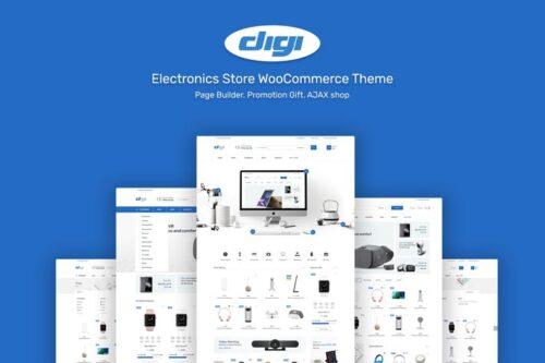 قالب وردپرس الکترونیک Digi - Electronics Theme for WordPress
