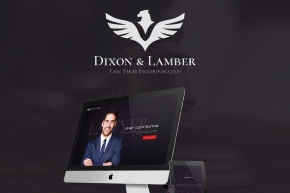 قالب وردپرس وکلا و دفاتر حقوقی Dixon & Lamber