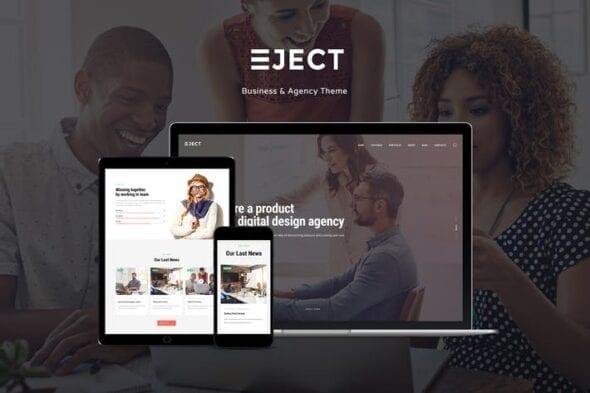 پوسته وردپرس تجاری و شرکتی Eject