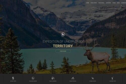 پوسته وردپرس آژانس های مسافرتی Entrada - Tour Booking & Adventure WordPress Theme