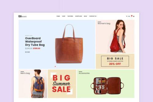 پوسته وردپرس فروشگاه کیف Evon - Bag Store WooCommerce WordPress Theme