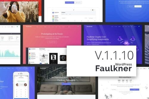 قالب وردپرس شرکتی Faulkner Responsive Multiuse WordPress Theme