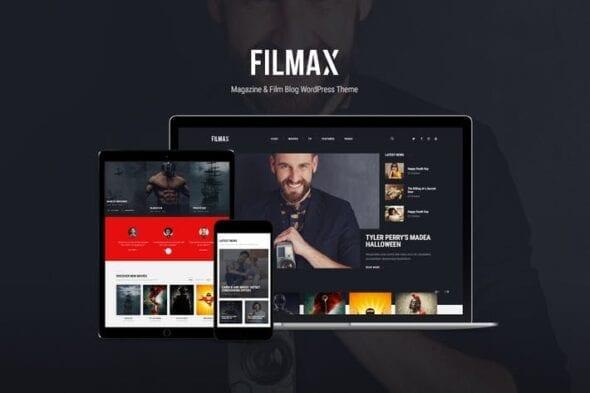قالب وردپرس مجله فیلم Filmax