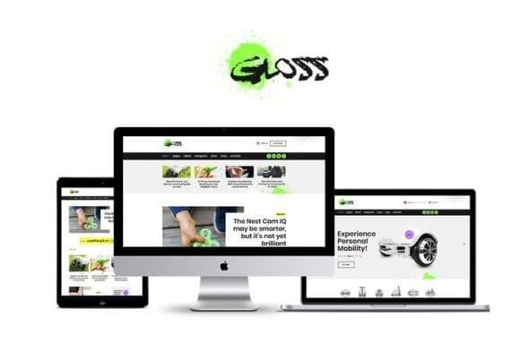 پوسته وردپرس بلاگ Gloss