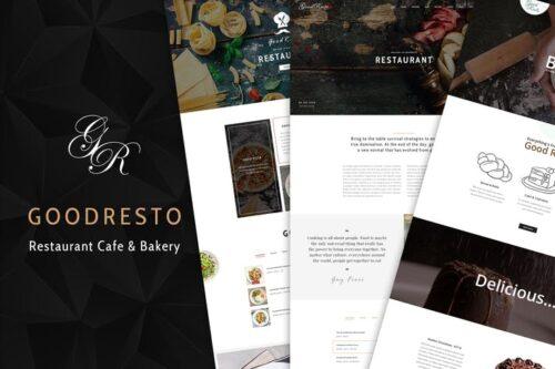 قالب وردپرس رستوران GoodResto - Restaurant WordPress Theme + Woocommer
