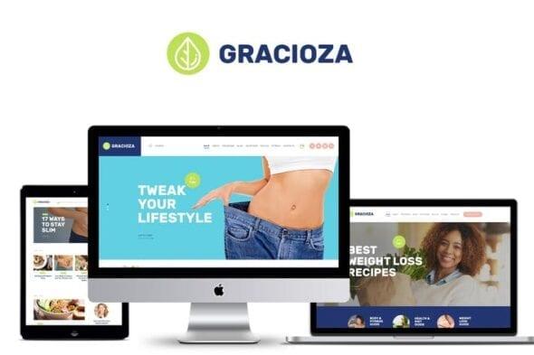 قالب وردپرس بلاگ Gracioza