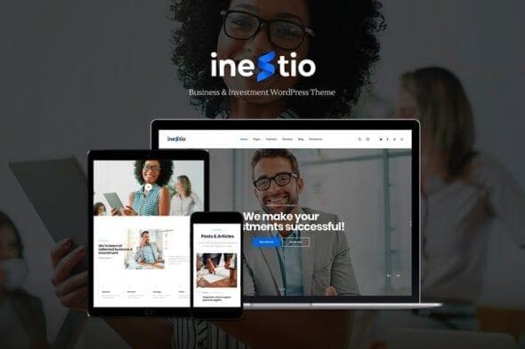 قالب وردپرس شرکتی Inestio