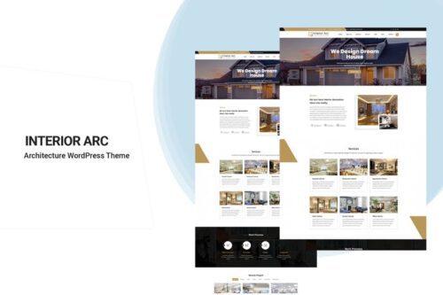 پوسته وردپرس معماری Interior Arc - Architecture WordPress Theme