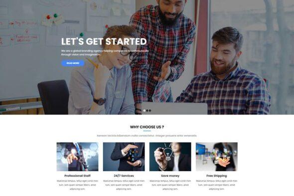 قالب وردپرس تجاری Kiamo - Responsive Business WordPress Theme