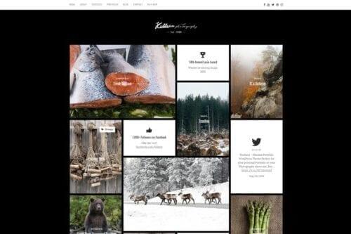 قالب وردپرس پورتفلیو Killeen – Contemporary Portfolio WordPress Theme