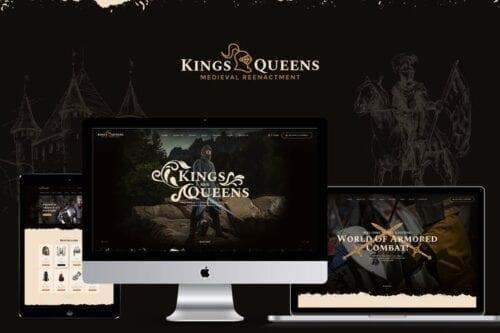 قالب وردپرس تئاتر Kings & Queens