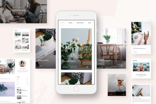 قالب وردپرس بلاگ و مجله Landyland - Responsive Clean Blog & Magazine Theme