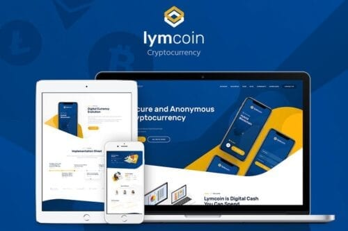 قالب وردپرس ارز دیجیتال Lymcoin - Cryptocurrency & ICO WordPress Theme