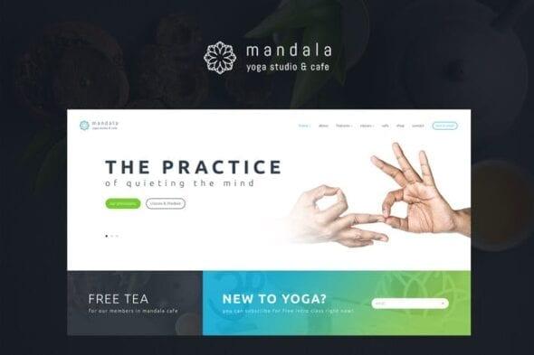 پوسته وردپرس یوگا Mandala