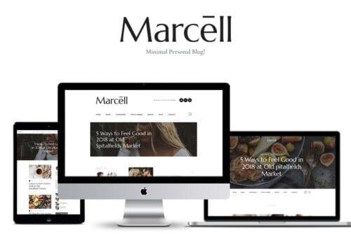 پوسته وردپرس بلاگ شخصی Marcell - Personal Blog & Magazine WordPress Theme