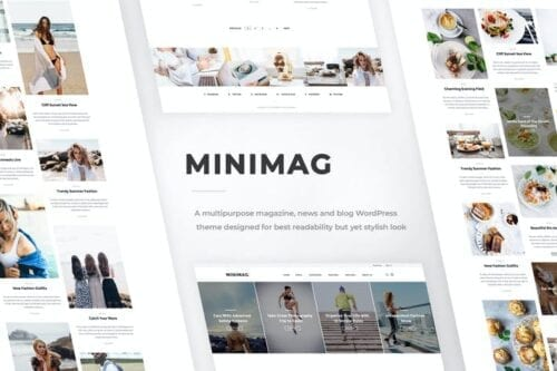 پوسته وردپرس مجله و بلاگ MiniMag - Magazine and Blog WordPress Theme
