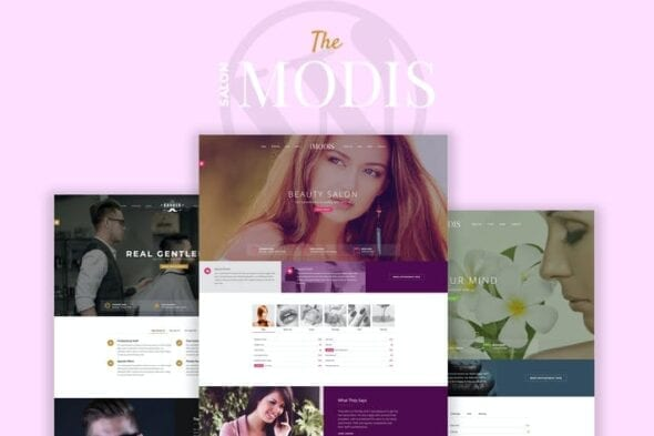 Modis - Salon & Barber WordPress Theme