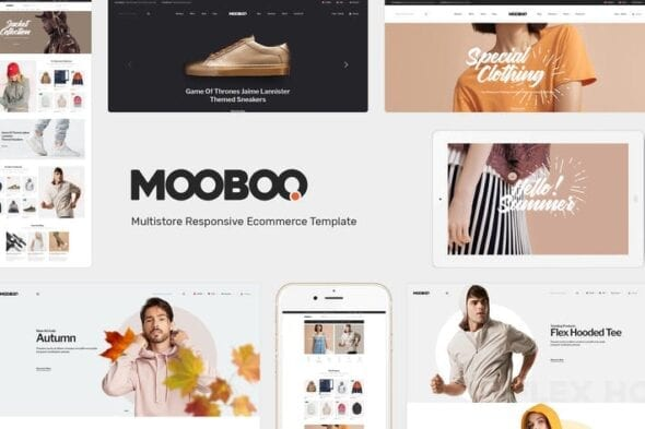 قالب وردپرس مد و فشن Mooboo - Fashion Theme for WooCommerce WordPress