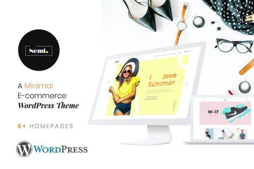 قالب وردپرس فروشگاهی Nemi   Multi Store Responsive WordPress Theme