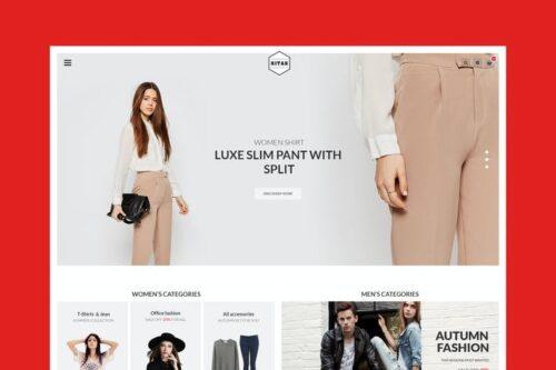 پوسته وردپرس مد و فشن Nitan – Fashion WooCommerce WordPress Theme