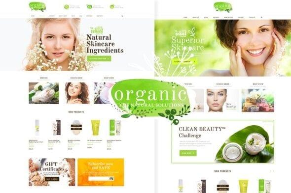 afzoneha.com Organic Beauty - افزونه ها   شبکه خرید و فروش منابع دیجیتالی