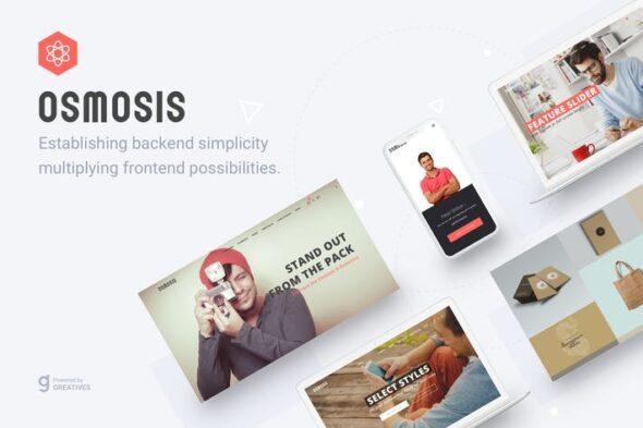 پوسته وردپرس چندمنظوره Osmosis - Responsive Multipurpose WordPress Theme