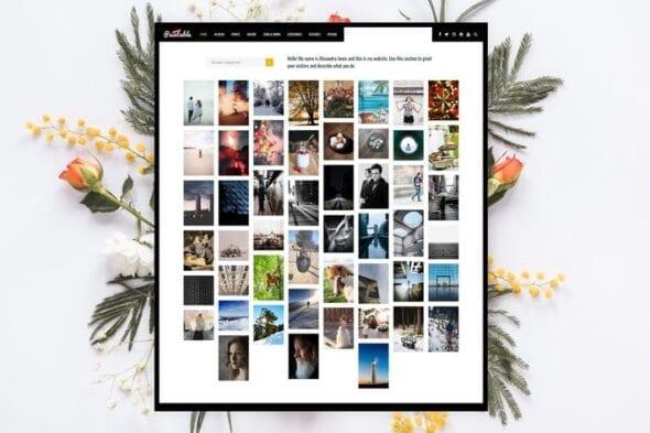 پوسته وردپرس بلاگ Paintable - Photography / Photos Blog Theme