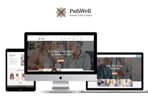 قالب وردپرس سلامت و پزشکی PathWell - A Senior Care Hospital WordPress Theme