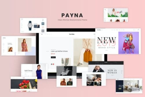 قالب وردپرس فروشگاهی Payna - Clean, Minimal WooCommerce Theme