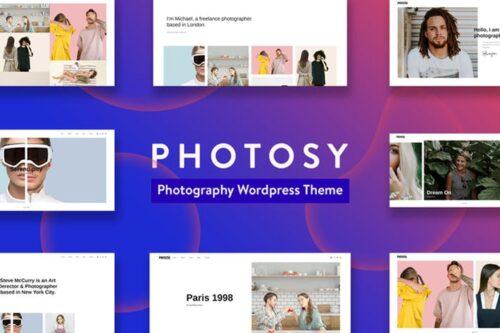 پوسته وردپرس عکاسی Photosy - Photography WordPress Theme