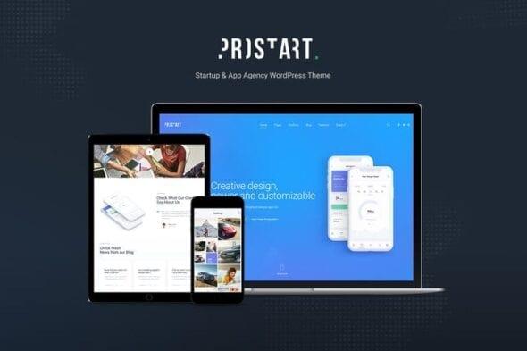 قالب وردپرس شرکتی Prostart - Startup & Corporate WordPress Theme