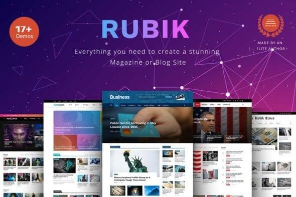 پوسته وردپرس مجله Rubik
