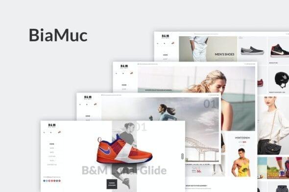 قالب وردپرس فروشگاهی SNS BiaMuc - WooCommerce WordPress Theme