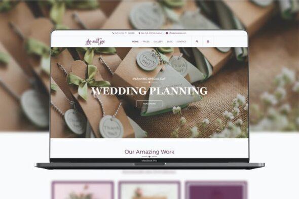 قالب وردپرس عروسی و ازدواج SheSaidYes - Engagement & Wedding