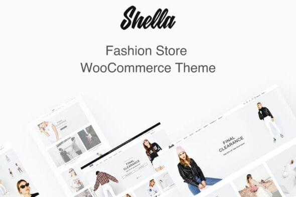 قالب وردپرس فروشگاهی مد و فشن Shella Fashion Store WooCommerce Theme