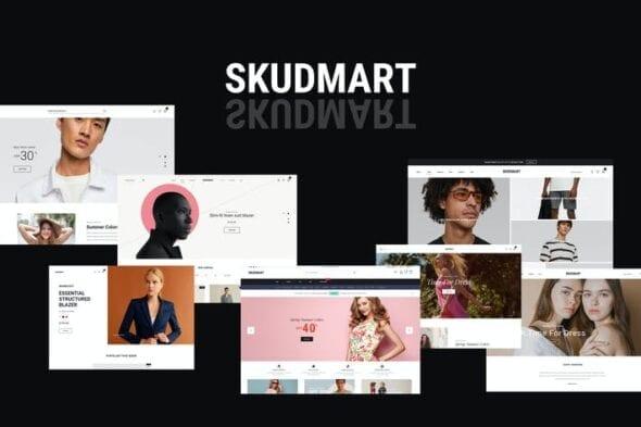 قالب وردپرس فروشگاهی Skudmart - Clean, Minimal WooCommerce Theme