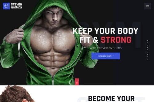 پوسته وردپرس باشگاه ورزشی Steven Watkins | Personal Gym Trainer & Nutrition