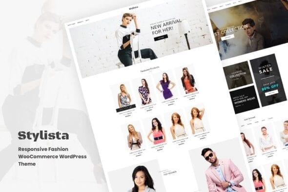 قالب وردپرس مد و فشن Stylista - Responsive Fashion WooCommerce WordPres